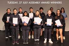 Image for 2021 Semester One - Year 11 Academic Achievement Awards