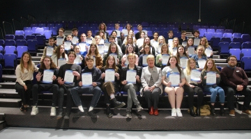 Image for 2020 Year 11 Colours Awards Night - Semester One