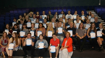 Image for Year 12 Colours Awards Night from Semester 2 2016