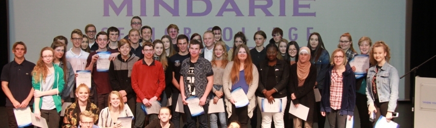 Image for Year 11 Colours Awards Evening for Semester 1