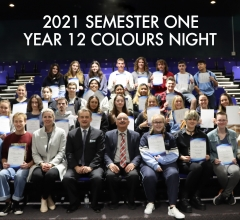 Image for 2021 Semester One - Year 12 Colours Night
